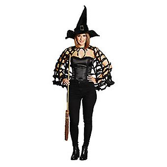 Spider Web Cape black cloak women's Halloween Carnival Carnival