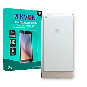 Huawei P8 reverse Screen Protector - Mikvon Clear (Retail Package with accessories)