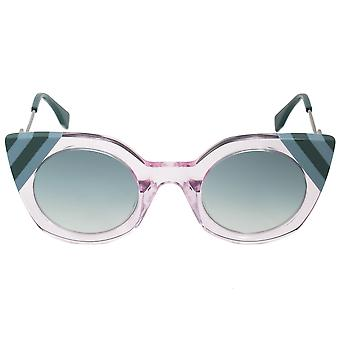 Fendi Waves Butterfly Sunglasses FF0240S 35J 9K 47