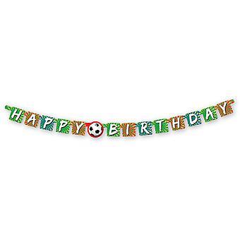 Sportslige mål Happy Birthday brev pendel