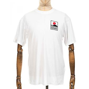 Edwin Jeans Sunset On Mt Fuji Tee - White