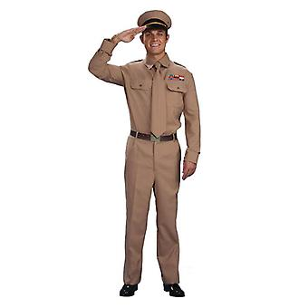 Bnov 2МВ армии генерала костюм