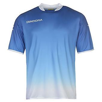 Diadora Mens Moron Training T Shirt Baselayer Top Tee Compression Armor Thermal