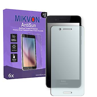 HTC Desire 728G Dual Sim Screen Protector - Mikvon AntiSun (Retail Package with accessories)