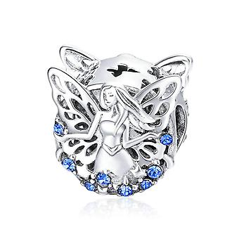 Sterling silver charm Wise elf
