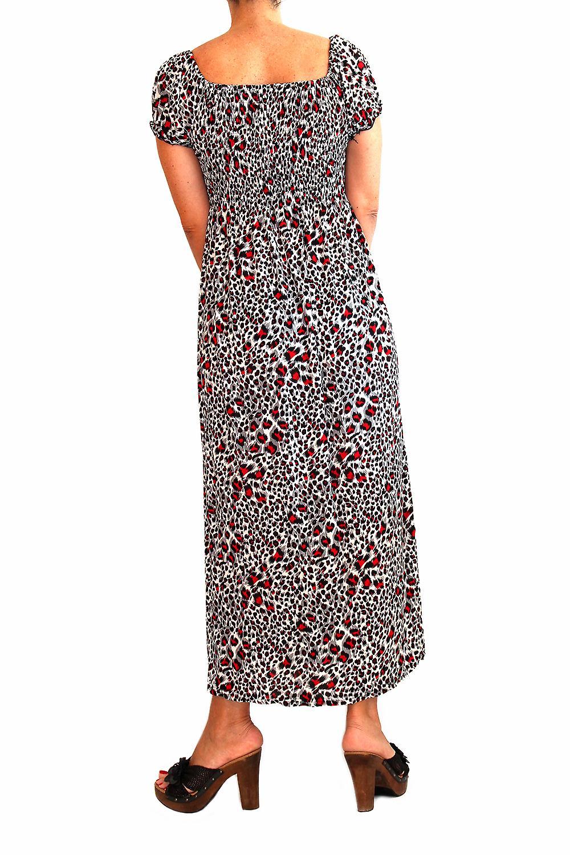 Waooh - mode - klänning lång leopard