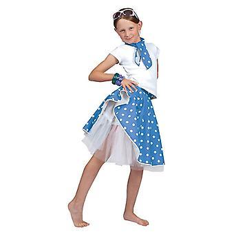 Rock 'N' Roll Skirt. Blue, One Size.