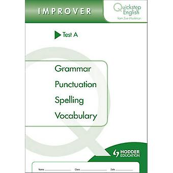 Quickstep English Test A Improver Stage by Sue Hackman - 978144419243