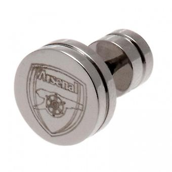 Arsenal FC RVS Stud Earring
