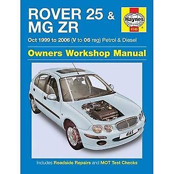 Rover 25 & MG ZR propriétaires manuel d'atelier
