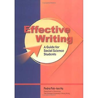 Effectief schrijven: A Guide for Students voor sociale wetenschappen