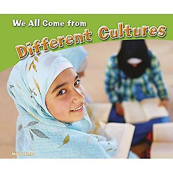 Vi alla kommer från olika kulturer