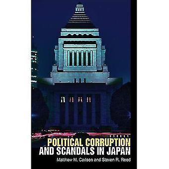 Politisk korruption och skandaler i Japan