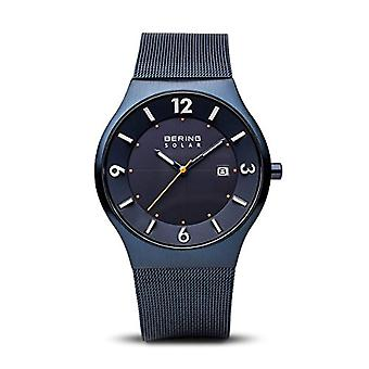 BERING Solar Analog Man with stainless steel strap 14440-393