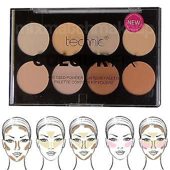 Technic Colour Fix poudre Palette Contour