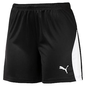 PUMA League s W women's soccer shorts black & white