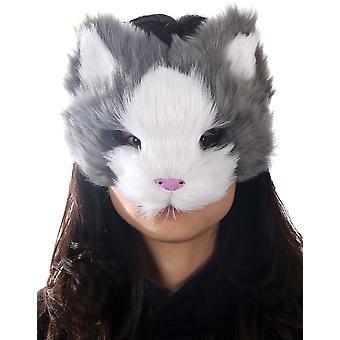 Maschera gattino grigio