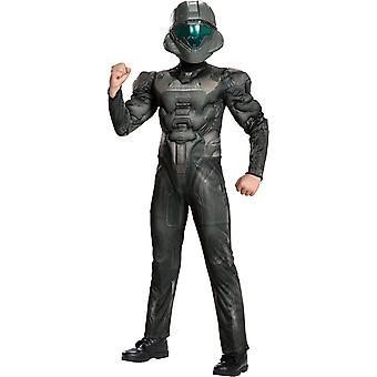 Halo Spartaanse kind kostuum