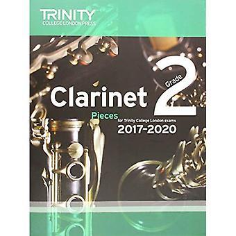 Clarinet Exam Pieces Grade 2 2017-2020 (Score & Part)