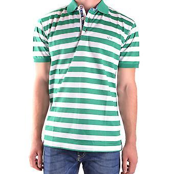 Paul & Shark Green Cotton Polo Shirt