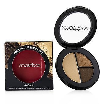 Smashbox Photo Edit Eye Shadow Trio - # Goals (Cha Ching 10000 Likes Revenge Bod) - 3.2g/0.11oz
