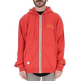 Heron Preston Red Polyester Outerwear Jacket