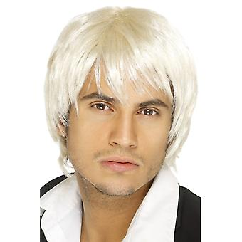 Gutten bandet parykk, blond