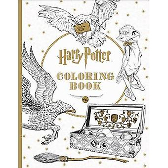 Harry Potter Coloring Book by Scholastic - 9781338029994 Book
