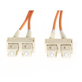 10M Sc Sc Om1 Multimode Fibre Optic Cable Orange