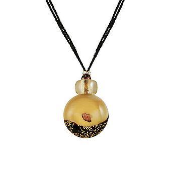 Colección eterna Bella Vista oro veneciano cristal de Murano collar