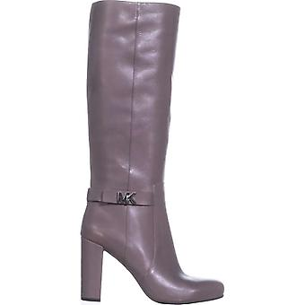 Michael Kors Womens Julianna boot Leather Closed Toe Mid-Calf Fashion Boots