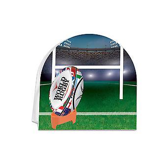 Rugby 3D Herzstück