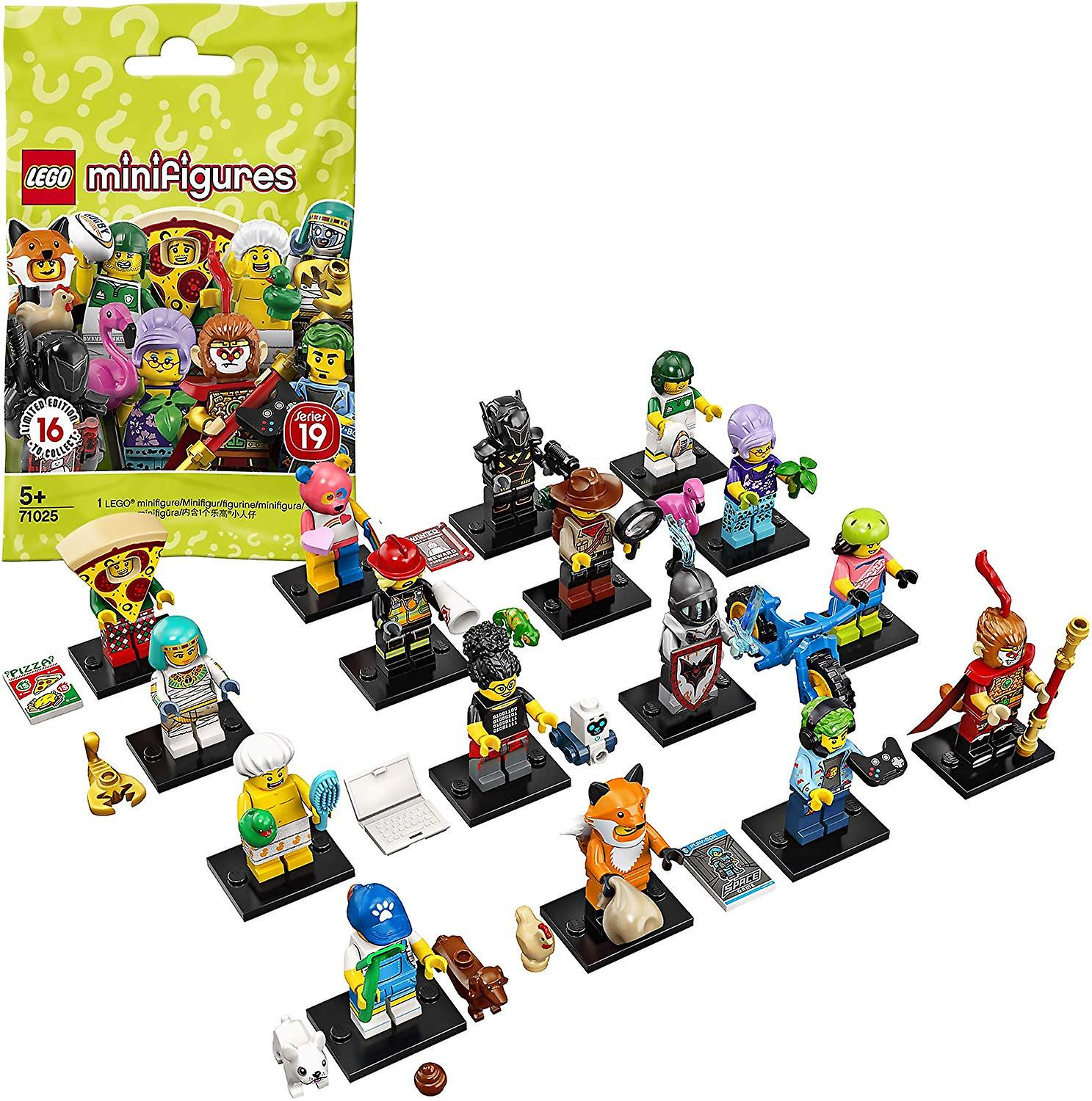 LEGO 71025 Minifigures Series 19 (One Supplied)