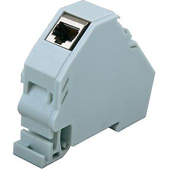Network outlet DIN rail CAT 6A EFB Elektronik ET-25186.V2
