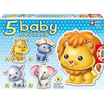Educa Bambino Wild Animals Puzzle