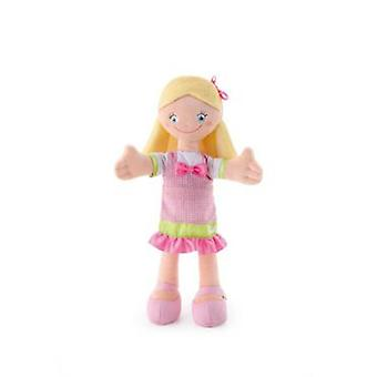 Trudi 30 cm cloth doll blonde with blue eyes 30 Cm
