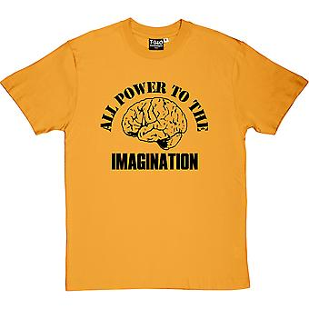 All Power The The Imagination Men's T-Shirt