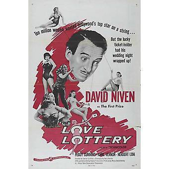 ملصق فيلم الحب اليانصيب (27 × 40)