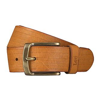 Lee belts men's belts leather belt Cognac 4655