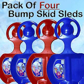 Set Of Four Bump Skid Sled / Sledges