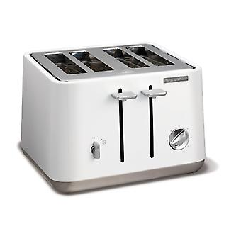 MORPHY RICHARDS Toaster Aspect White 4 Discs