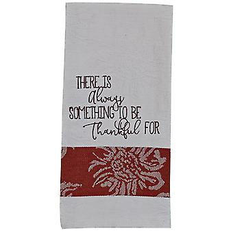 There is Always Something To Be Thankful For Kitchen Dish Towel 28 Inches