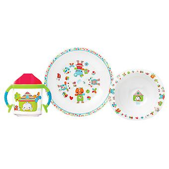 Saro Tableware 3 pcs.  Sweet Garden  (Babies and Children , Eat , Kitchenware)