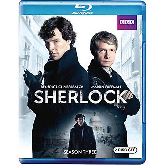 Sherlock - Sherlock: Seizoen 3 [BLU-RAY] USA importeren