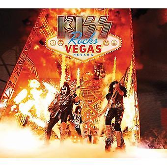 Bacio - bacio rocce Vegas [DVD] Stati Uniti importare