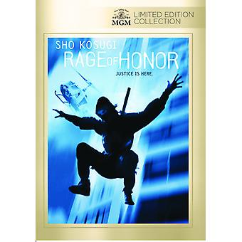 Rage of Honor [DVD] USA import