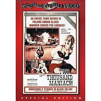 Two Thousand Maniacs [DVD] USA import
