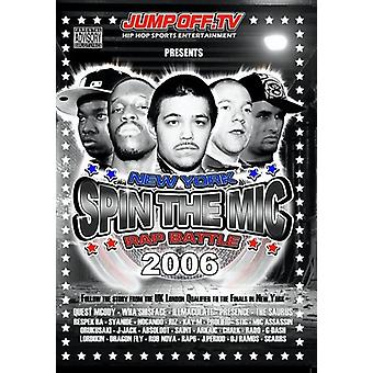 Spin Mic: New York Rap Battle 2006 Disc 1 [DVD] USA import