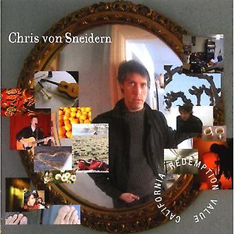 Chris Von Sneidern - importación de Estados Unidos valor de rescate de California [CD]