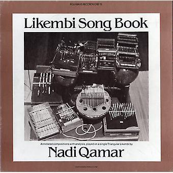 Nadi Qamar - importazione USA Likembi Song Book [CD]